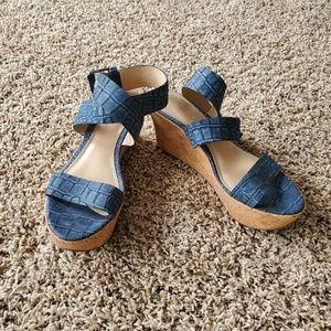 Via Spiga wedge heels